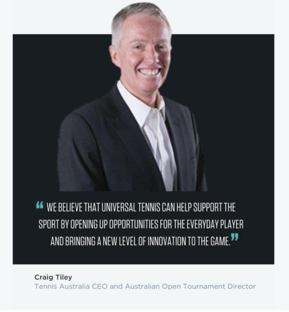 UTR Craig Tiley