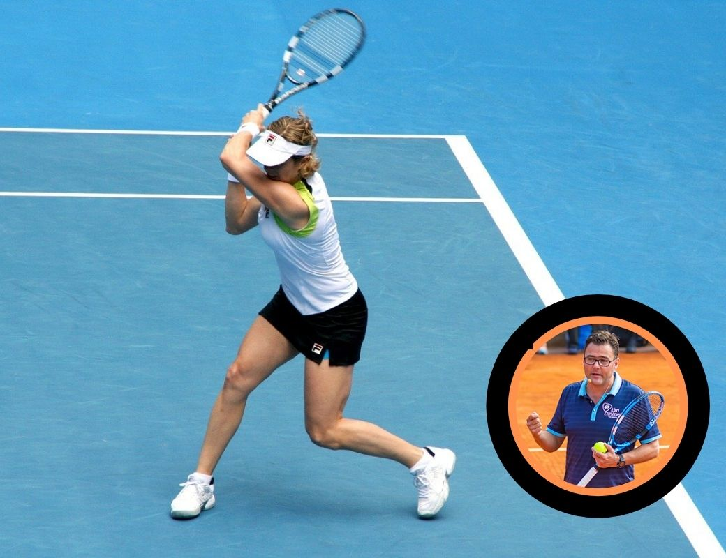 Tennis Webinar comparisons between female pro and junior players